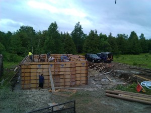 Foundation Wall Forms