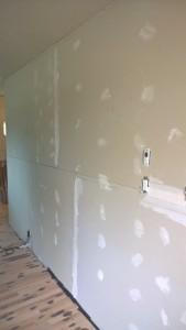 Drywall mudding