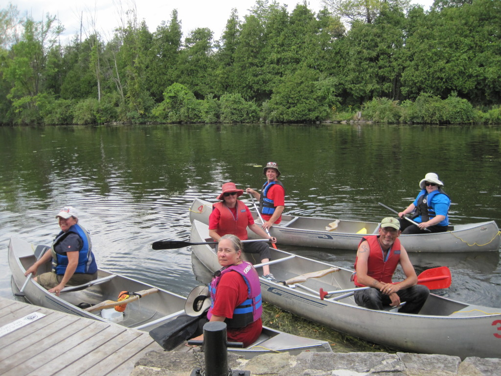 Canoe course student photo