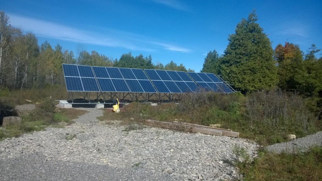 6500W Solar Array